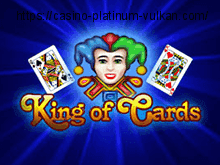 King of Cards - играть в автоматы на Вулкан Платинус